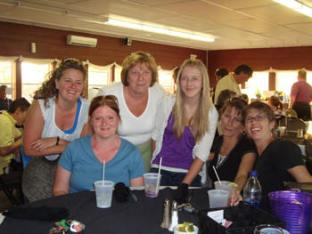The support team; Jane, Michelle, Debbie, Lauren, Kelly, Kathy!